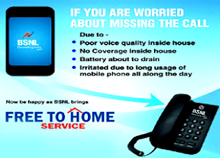 BSNL Call Forwarding Free to Home