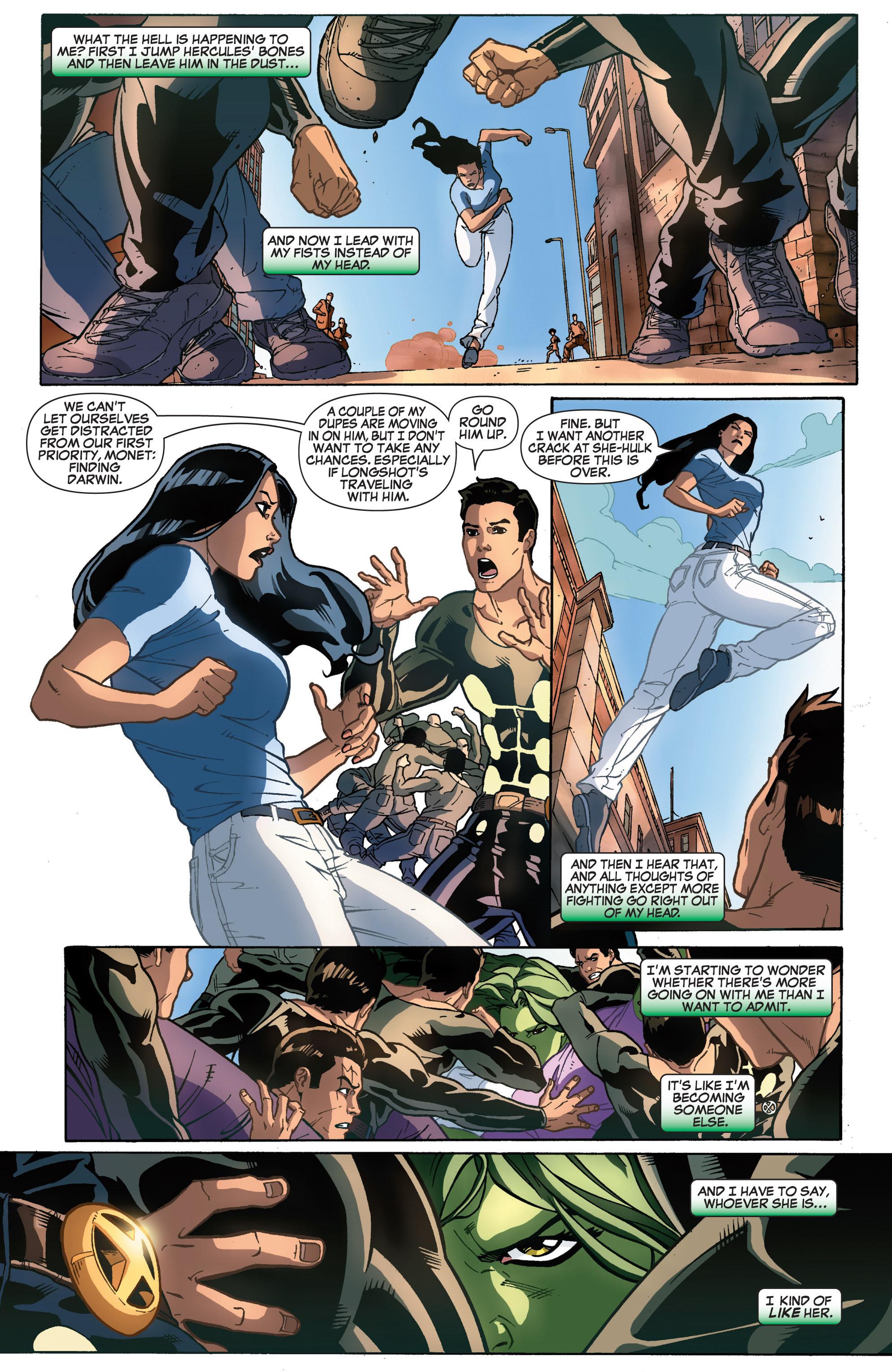 Read online She-Hulk (2005) comic -  Issue #31 - 21