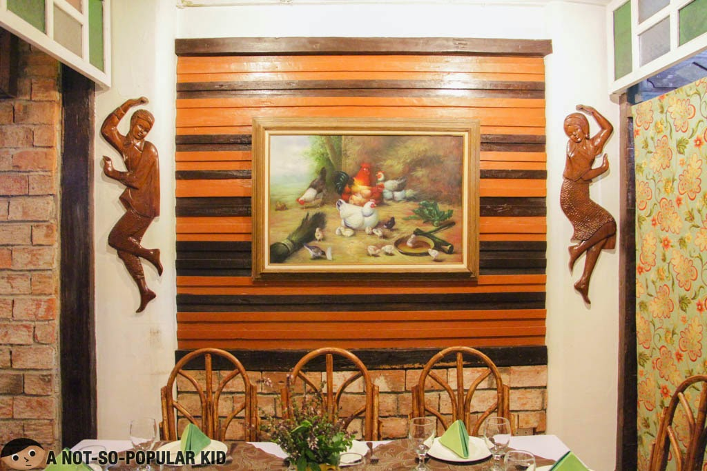 Saramsam Ylocano Restaurant and Bar, Balay da Blas, Laoag, Ilocos Norte