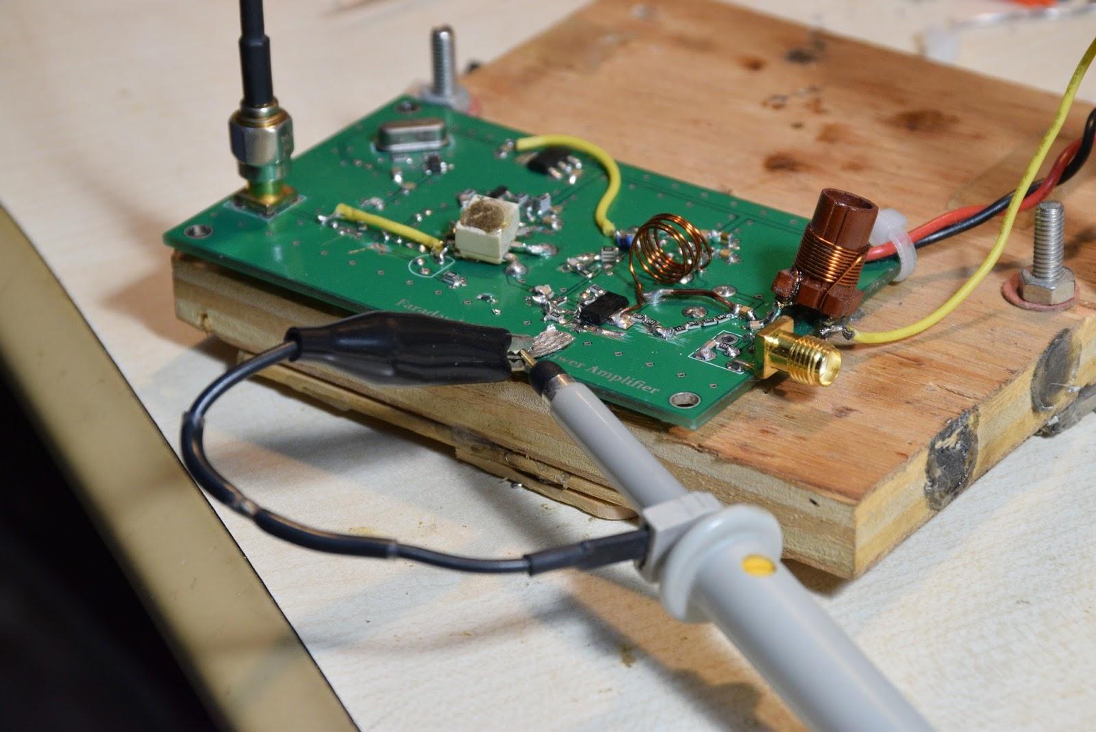 Faraday Lab: RF Probing issue