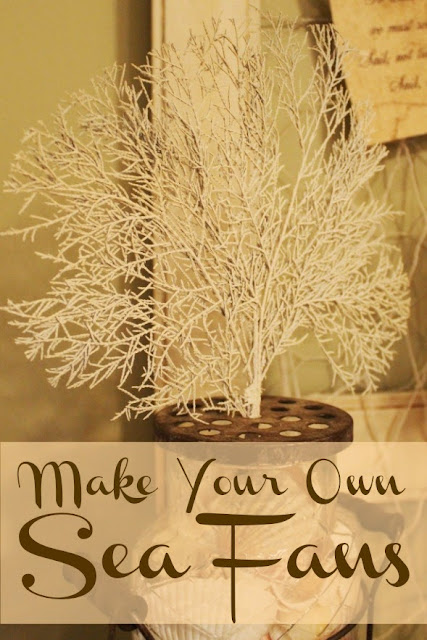 Miss Kopy Kat Easy Autumn Wreath: Make Your Own Sea Fans