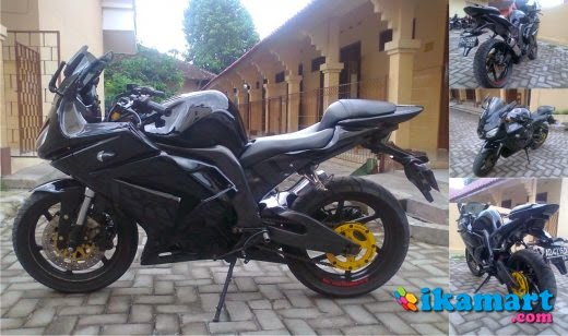 Modifikasi Honda Tiger Full Fairing