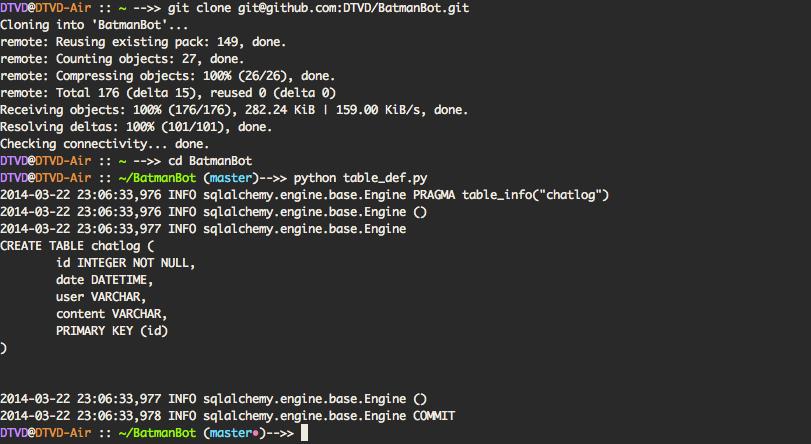 Freenode chat server python