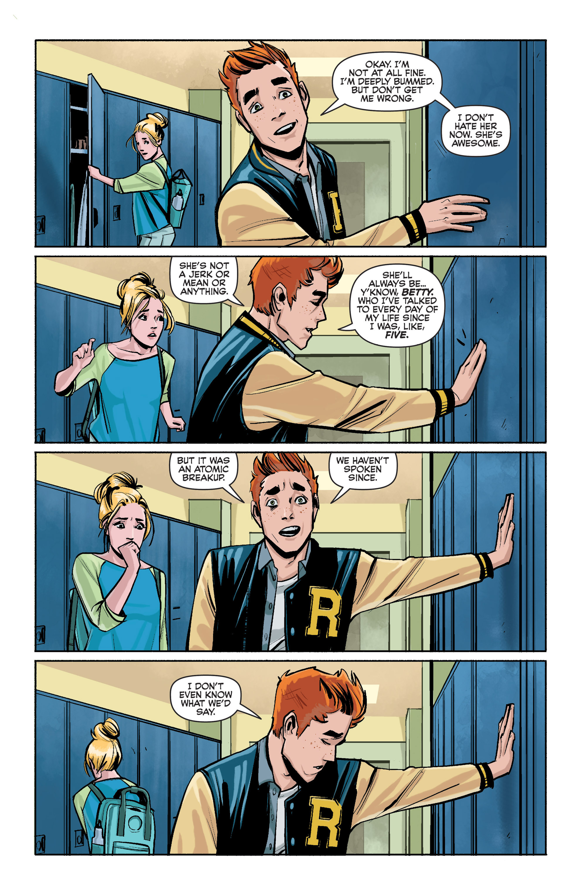 Read online Archie (2015) comic -  Issue #1 - 7