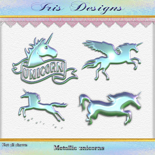 Metallic unicorns