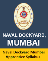 Naval Dockyard Mumbai Apprentice Syllabus