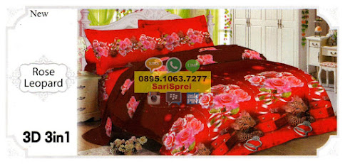 Sprei Lady Rose Leopard
