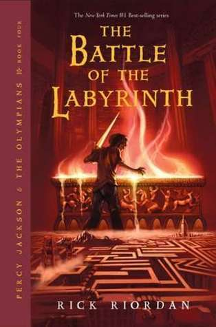The Battle Of The Labyrinth Rick Riordan