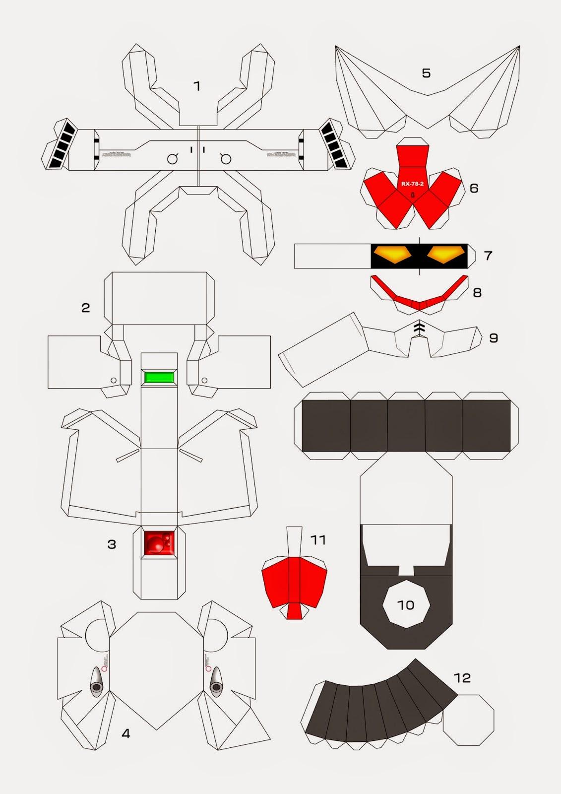 Miftah Art Gundam Rx 78 2