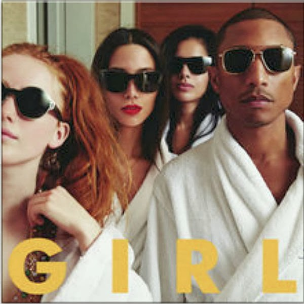 Pharrell's G I R L album will feature major stars; Justin Timberlake, Miley Cyrus