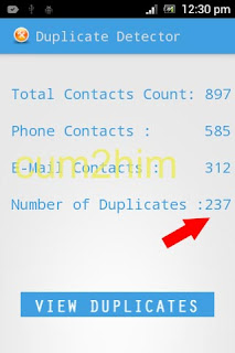 Cara Menghapus Duplikat Kontak Android dengan Duplicate Contact Manager