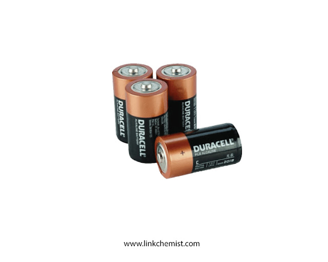 Batteries as a voltaic cell