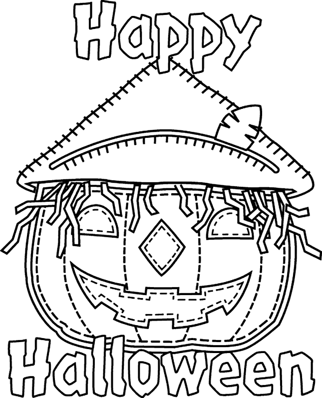 Halloween Coloring Pages: Halloween Printable Coloring Pages