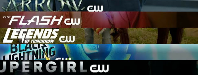 CW the arrowerse tv shows logos