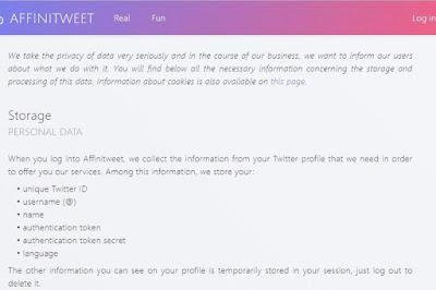 Game Affinitweet di Twitter Bisa Ambil Data Pengguna
