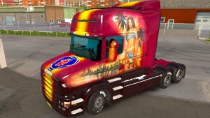Scania T Beau skin mod by panthere03