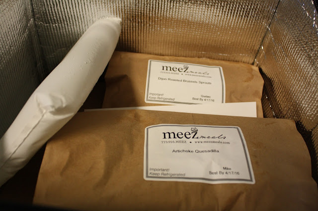 Meez Meals packaged in cooler