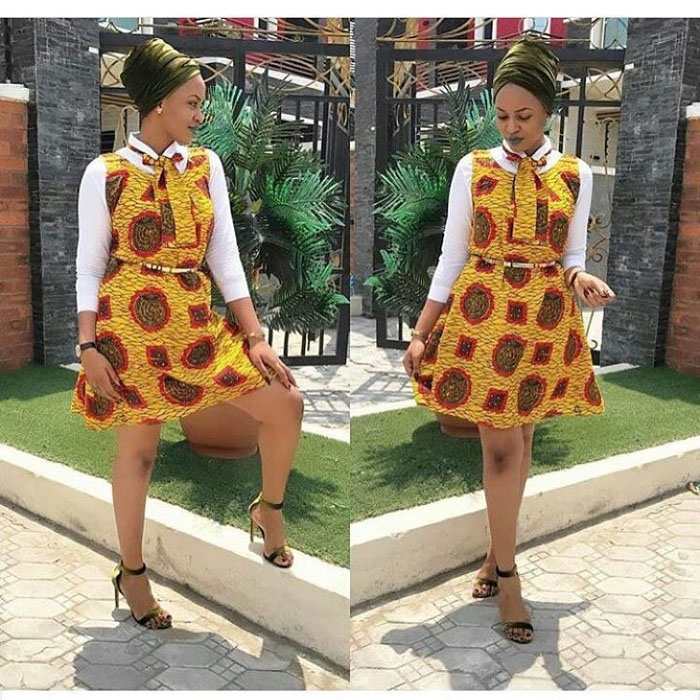 pictures of ankara skirt and blouse (3)