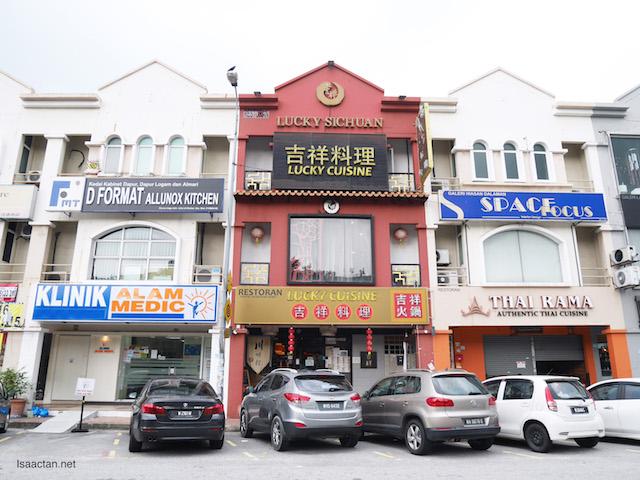 Lucky Sichuan Cuisine Restaurant, Kota Damansara