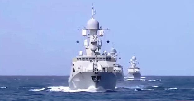 moving missile destroyer tests