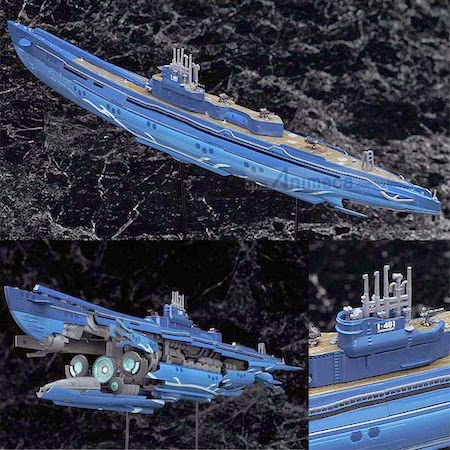 FIGURA SUBMARINE I-401 1/350 Good Smile Arms Arpeggio of Blue Steel Ars Nova