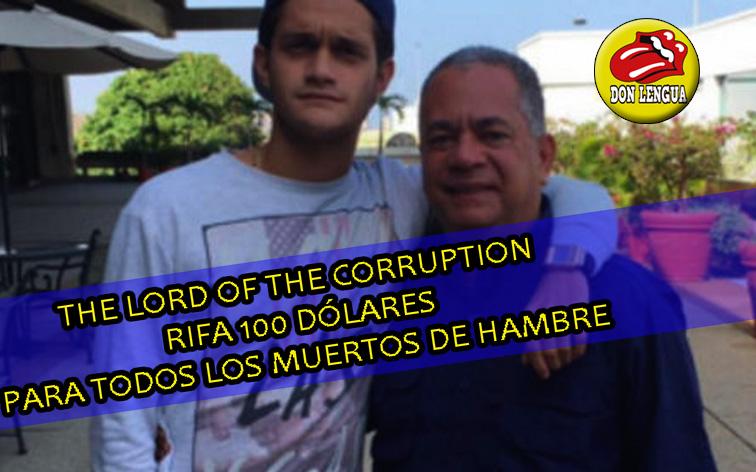 Hijo de Elvis Amoroso rifa 100 dólares en sus redes para ganar seguidores