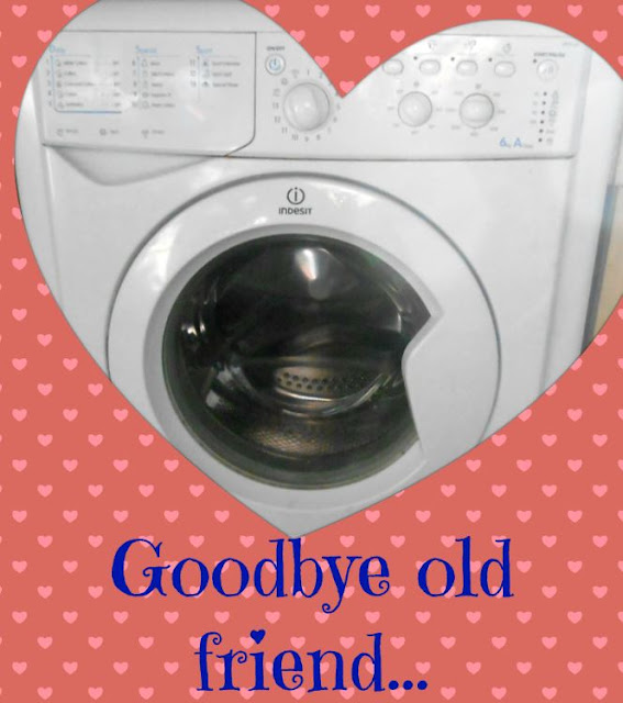 Farewell to a washing machine...