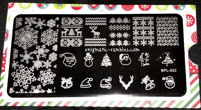 Review-Born-Pretty-Store-BPL-032-Christmas-Stamping-Plate