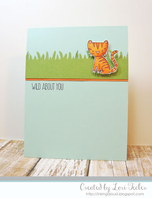 Wild About You card-designed by Lori Tecler/Inking Aloud-stamps and dies from My Favorite Things