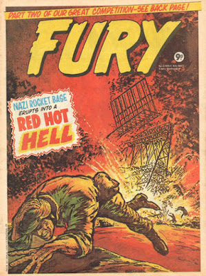 Marvel UK, Fury #8
