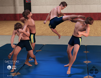 Fighting Series: Tae Kwon Do for Genesis 3 Male