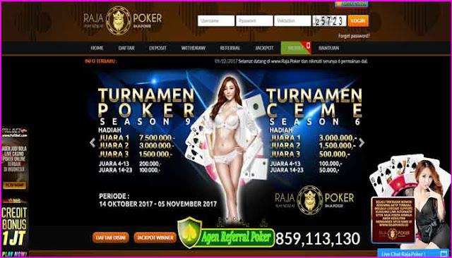 Rajapoker Agen Judi Poker Online Uang Asli Terbaik Indonesia