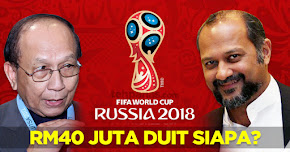 Thumbnail image for RM40 Juta Bagi Siaran Piala Dunia 2018, UMNO Minta Kerajaan Menjelaskan