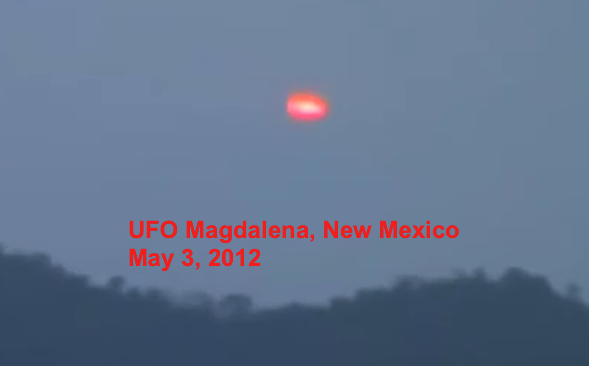 UFO SIGHTINGS DAILY: Red UFO Over Magdalena, New Mexico On ...