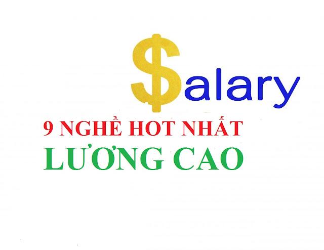 9 ngành nghề HOT nhất ở Việt Nam năm 2016 vì lương cao