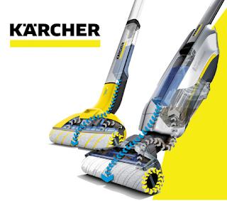 Prueba las fregadoras sin cable Kärcher