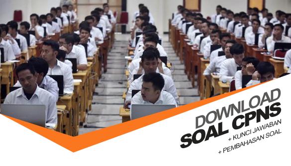 50 Butir Soal CPNS 2018 Format PDF Soal TWK, TKP, TIU