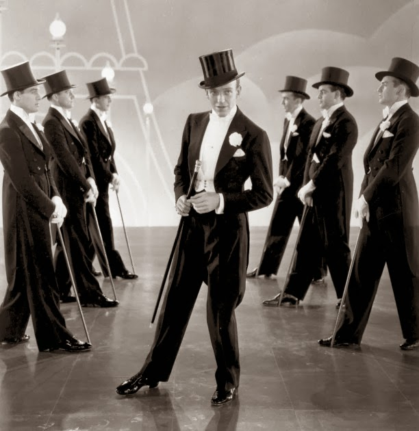 18290dcd24d29 Fred Astaire in Top Hat 1935