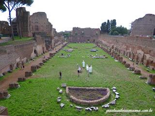 palatino estadio domiciano guia brasileira - Roma Antiga I - A Idade do Ferro