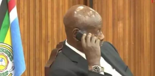uganda president cheap phone