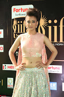 Akshara Haasan in Peachy Crop Top Choli Skirt at IIFA Utsavam Awards 81.JPG
