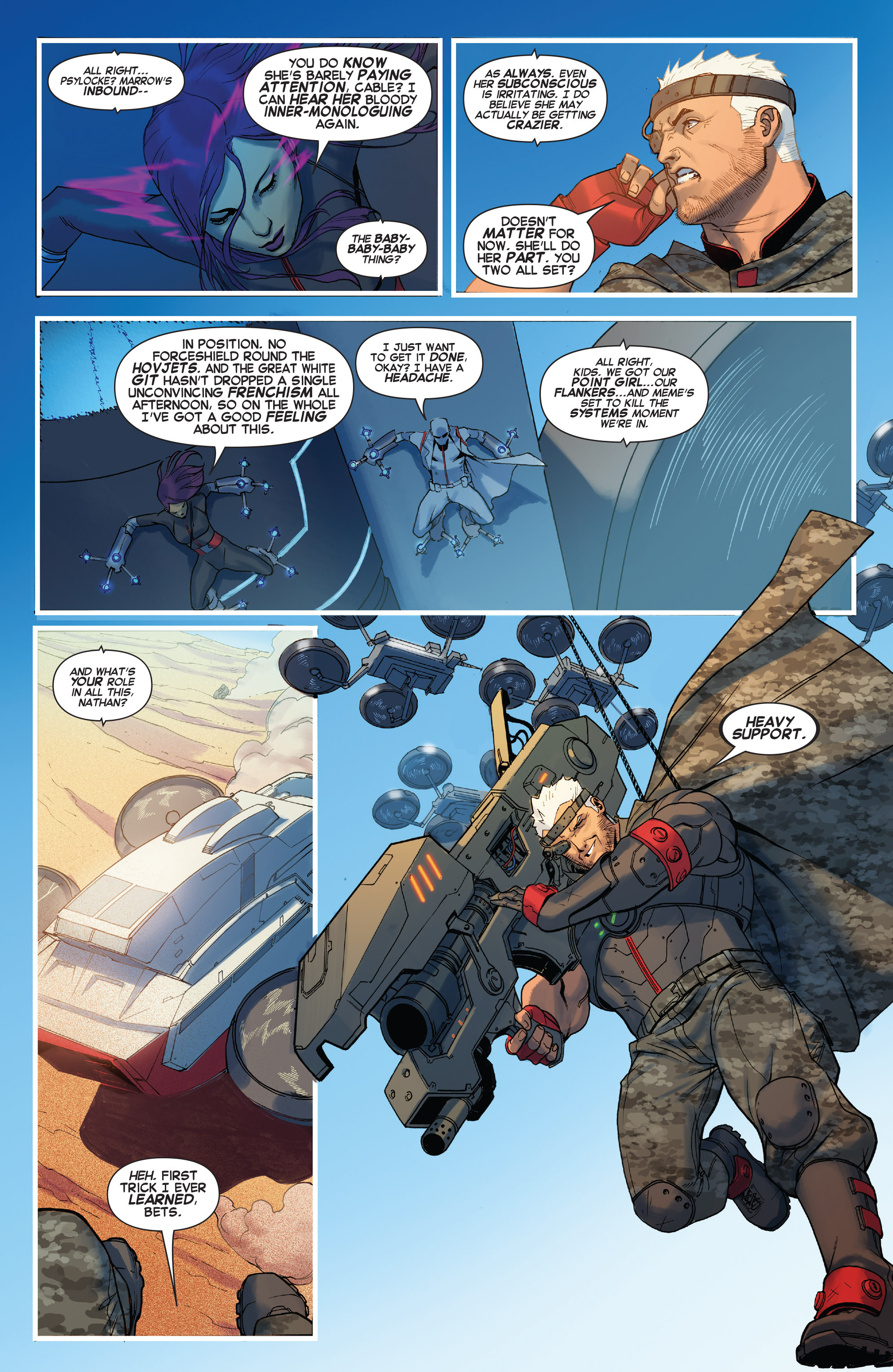 Read online X-Force (2014) comic -  Issue #5 - 6