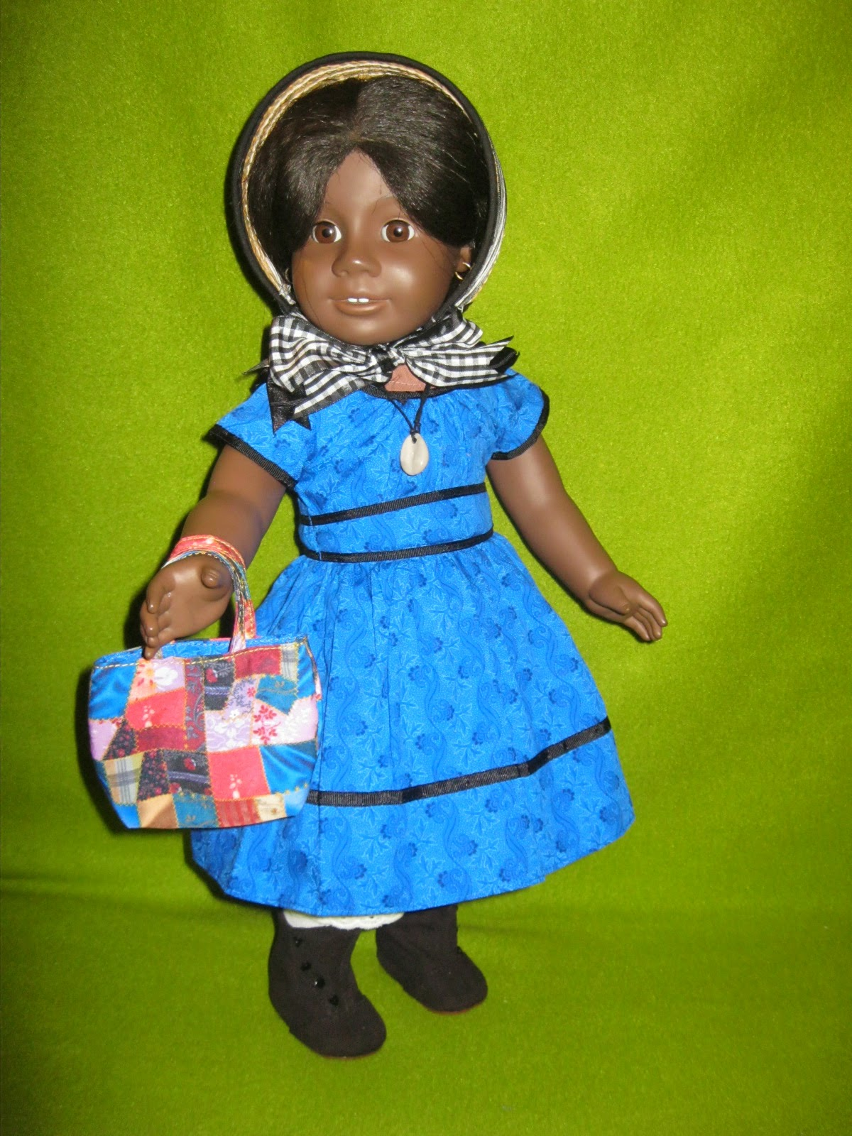 New American Girl Doll FELICITY Replacement Cream Hair Ribbon from Meet Outfit I