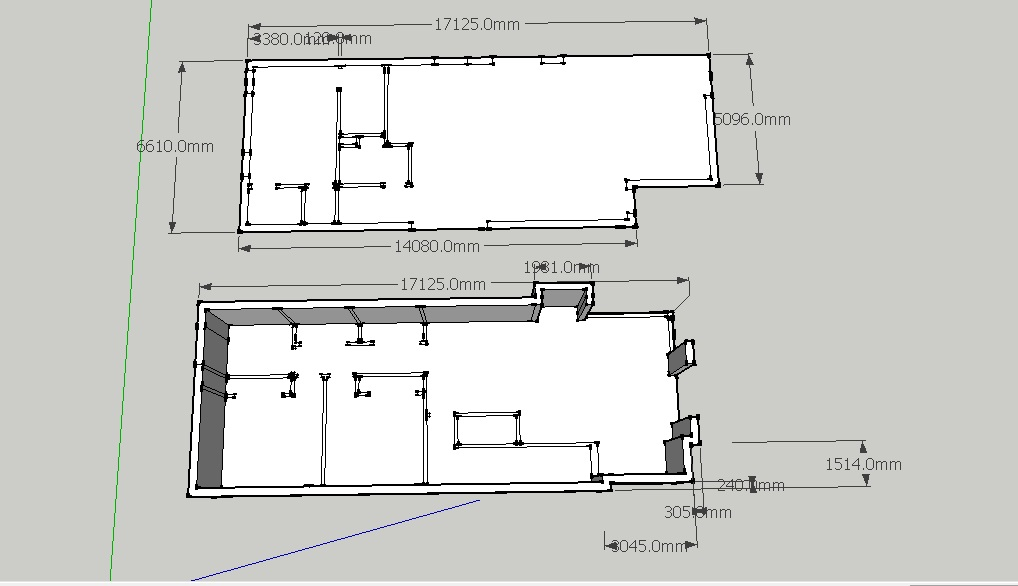 Chinatsu Arch1392 Mid Semester Break Sketchup Model