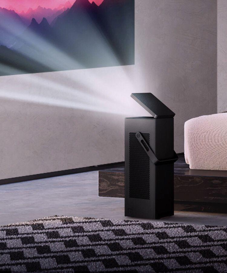 LG تعلن عن بروجكتور يعرض الصور بحجم 150 بوصة بدقة 4K UHD