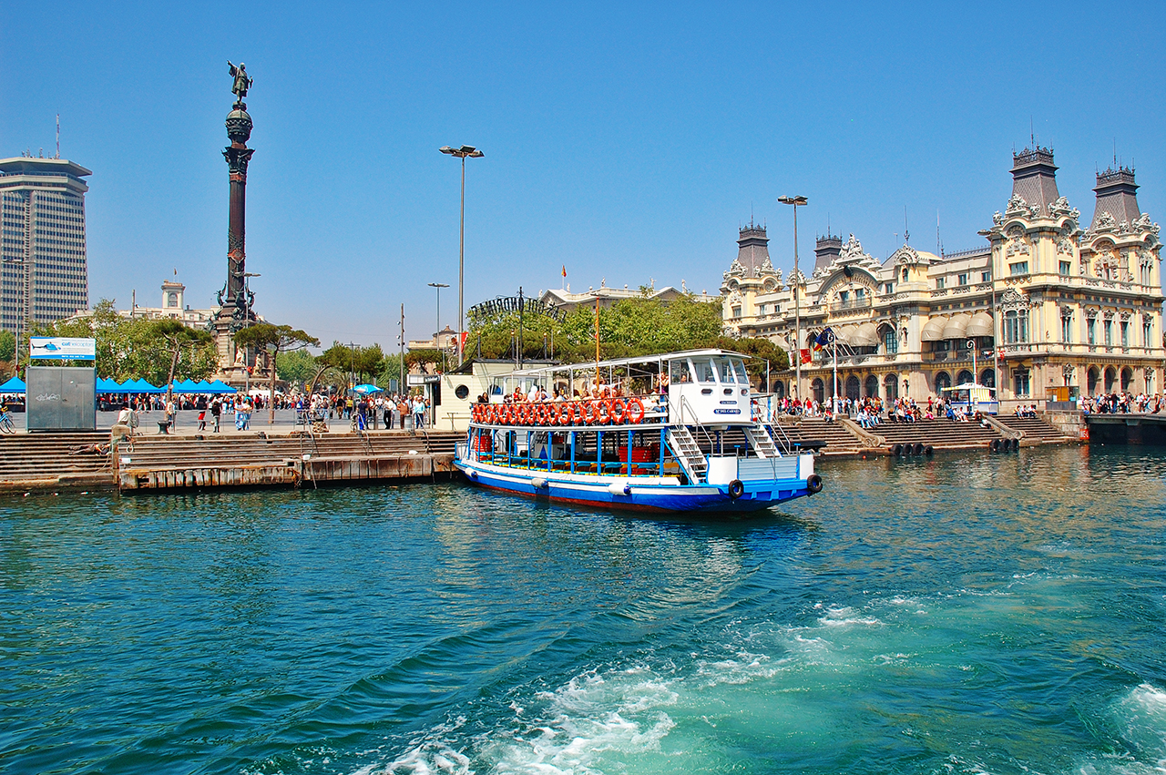 Barcelona Harbor: Las Golondrinas Sightseeing Boat