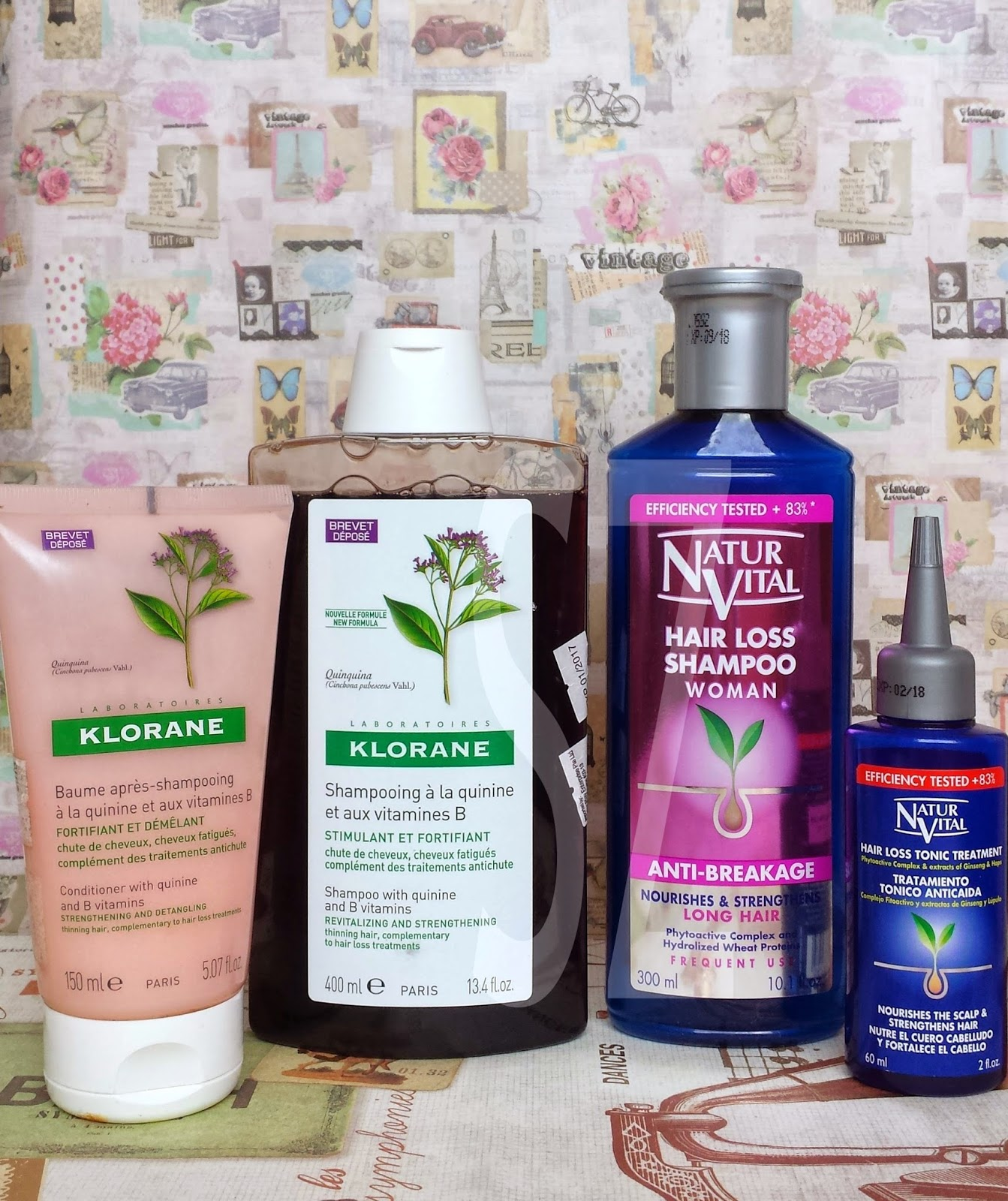 some of my favourite things: the battle between hair loss shampoos