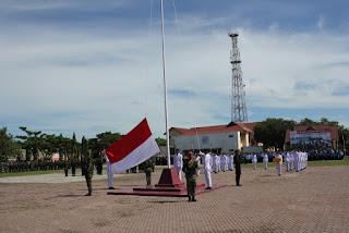 Bupati Inspektur Upacara HUT RI di Aceh Utara