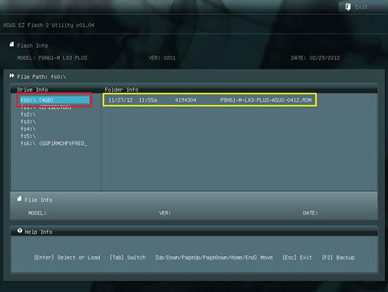 Cara Update BIOS Mainboard ASUS