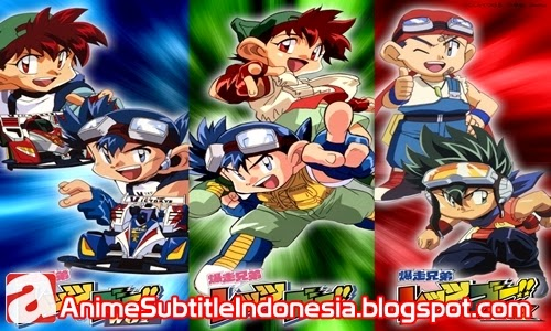 Download Bakusō Kyōdai Let's & Go!! MAX Episode 09 RAW